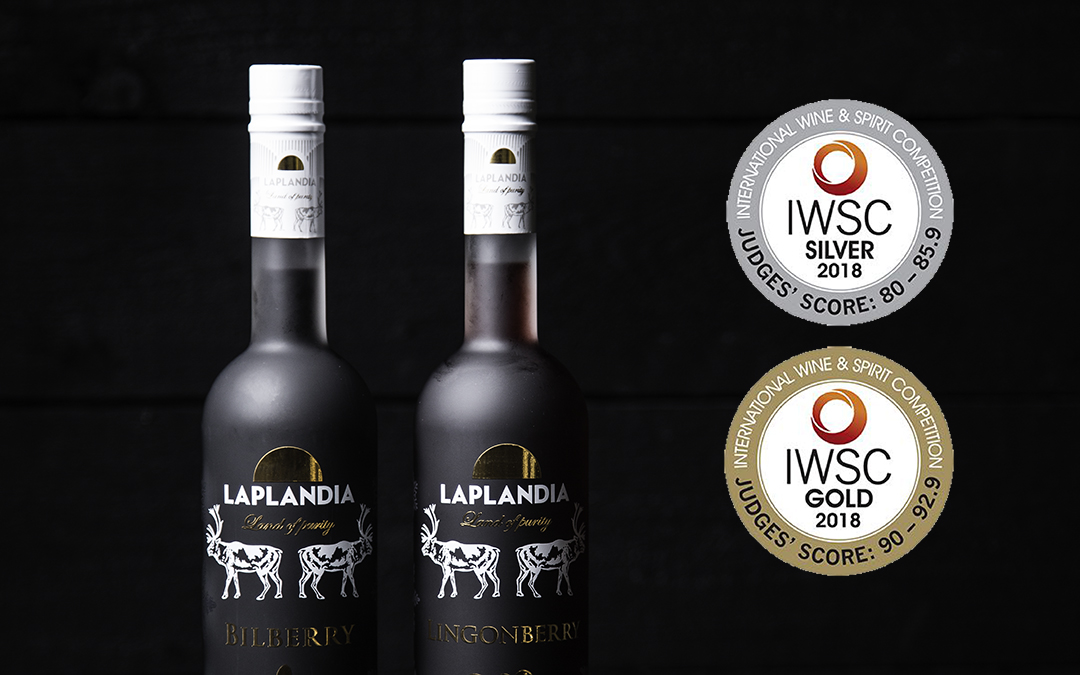 IWSC 2018 awards Laplandia Vodka with gold
